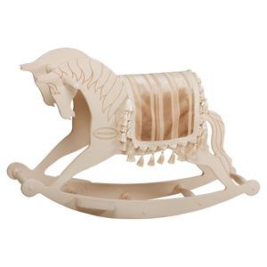 Качалка «Лошадь»-черная