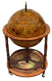 Глобус-бар напольный (47016)