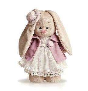 Зайка Ми в фиолетовом пальто и белом платье (малый)(StS-033)