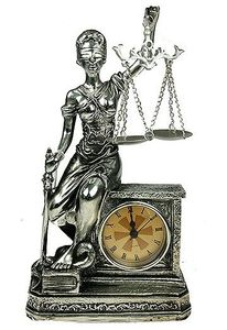"""Часы """"Богиня Правосудия"""" (20626)"""