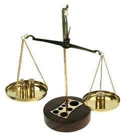 Сувенир: весы с разновесами (33212)