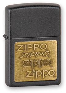 """Зажигалка Zippo """"CRACKLE W/BRS EMBLEM (362)"""