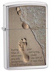 """Зажигалка ZIPPO """"Footprint (28180)"""