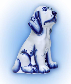"""Собака """"ЧЕРНЫШ"""" (SG0166-00)"""