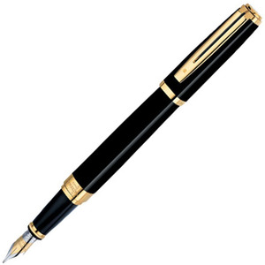 Перьевая ручка Waterman Exception Ideal Black G (S0636790)