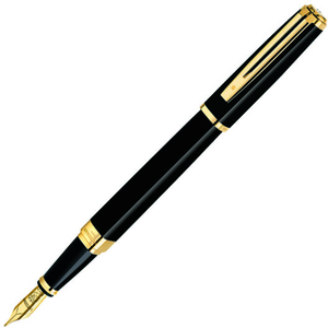 Перьевая ручка Waterman Exception Slim Black G (S0636930)