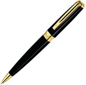 Шариковая ручка Waterman Exception Slim Black G (S0636960)