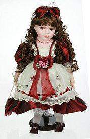 "Кукла коллекционная ""Сандра"", фарфор  (15954)"