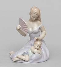 JP-15/39 Статуэтка ''Девушка с ребенком'' (Pavone)(105818)