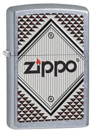 Red& Chrome Зажигалка Zippo 4*6см (28465Red)