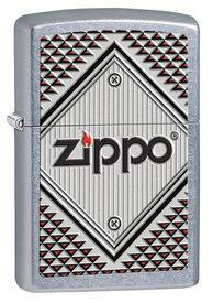 Red& Chrome Зажигалка Zippo 4*6см (28465Red)