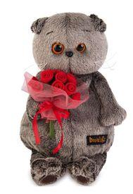 Басик с букетиком роз (Ks19-046)