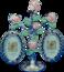 "Фоторамка ""Букет роз"" на 2 фото (264009)"