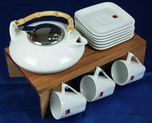 Подарочный чайный набор на подставк (111001)