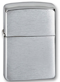 "Зажигалка Zippo ""Armor Brushed Chrome (162Armor Brushed Chrome)"