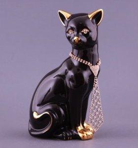 """Фигурка """"Кошка с галстуком"""" (456-901)"""