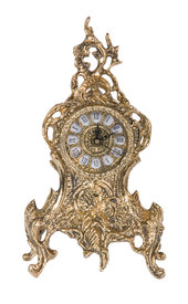 Часы с завитком (бронза) (5450 Г)