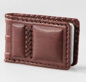 Визитница карманная, малая односекционная (004-07-11)