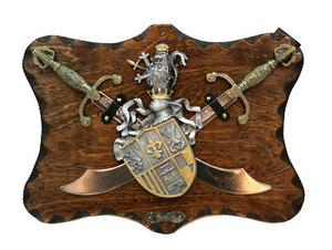 "Коллаж ""Рыцарские трофеи"" (31667)"