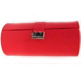Шкатулка для 3 очков красная (DY6538 red)