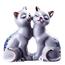 Кошки-пара (25583)