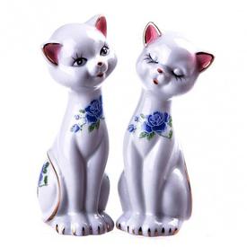 Кошки h=13 см. (25582)