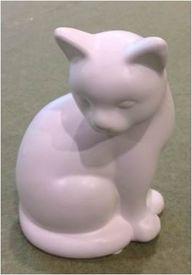 "Статуэтка ""Кошка"", фарфор  (110606)"