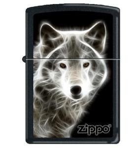 """Зажигалка Zippo """"White Wolf (28303)"""