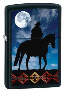 """Зажигалка Zippo """"Cowboy moon (28311)"""