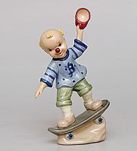 """Фигурка """"Клоун на скейтборде"""" (Pavone) (104604)"""