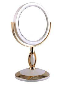 """Зеркало настольное (B4""""906 PER/G WPearl&Gold)"""