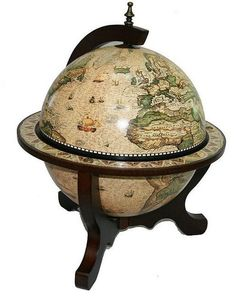 """Глобус-бар """"Карта древних времен"""" настольный (47042)"""