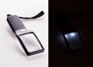 Лупа с LED-подсветкой (98702)