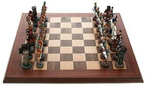 "Шахматы из олова ""Греки и Римляне"" (44413)"