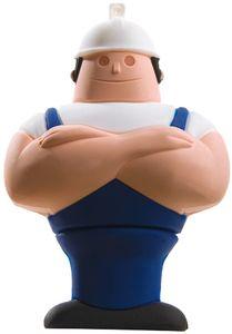 Флешка «Человек труда», синяя, 8 Г (4121.08)