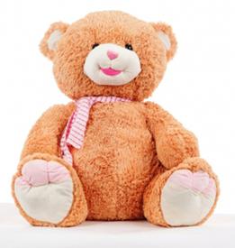 """Медведь """"Тоша"""" (рыжий-большой) (221337)"""