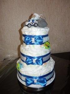 Торт из памперсов (19204)