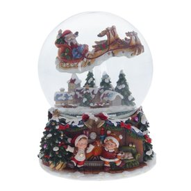 """Шар """"Дед Мороз на санях"""" (743528)"""