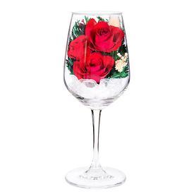 Композиция из красных роз (GHR7)