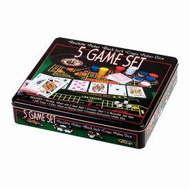 Набор настольных игр 5 в 1  (582408)