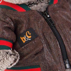 Басик в кожаной куртке (K22-059)