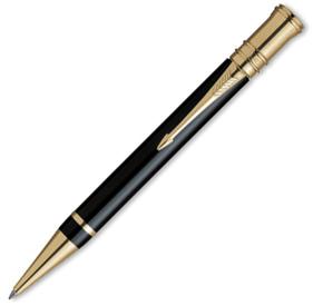 "Шариковая ручка Parker ""Duofold Black"" GT B (S0690500)"