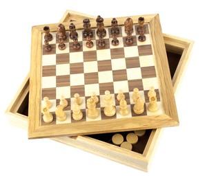 Набор игр шашки + шахматы (GF005)