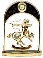 "Фигурка декоративная - знак зодиака с часами ""Стрелец"" 14см (67332)"