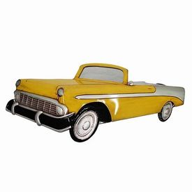 "Панно ""Ford Thunderbird 1955"" с зеркалом (594401)"