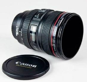 Кружка объектив Canon (пластиковая)