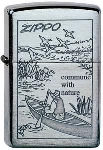 Зажигалка.ZIPPO (200 Row Boat)