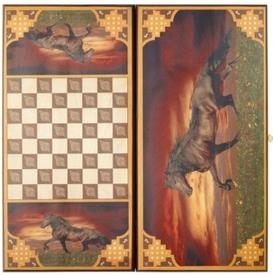 """Нарды """"Лошадь"""" мал.(1035/13)"""
