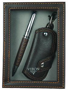 """Подарочный набор """"VIRON"""": авторучка, ключница (43515)"""