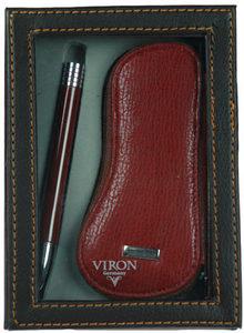 """Подарочный набор """"VIRON"""": авторучка, ключница (43516)"""